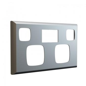 Silver Faceplate