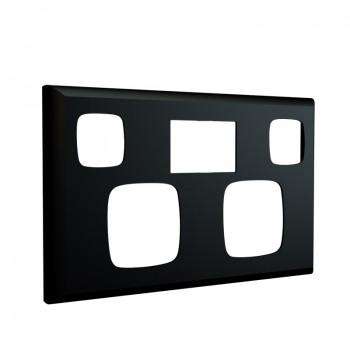Black faceplate