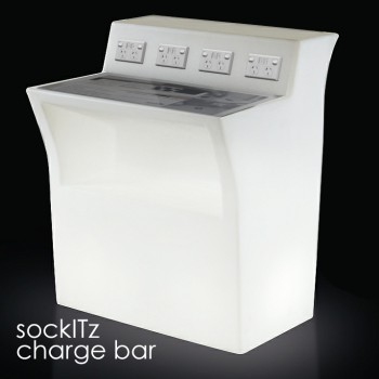 Illuminated sockITz charge bar