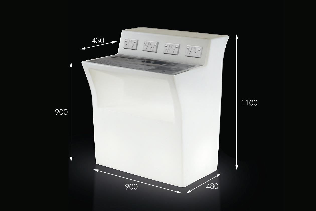 sockITz illuminated charge bar
