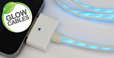 Illuminated glow cables (Apple)