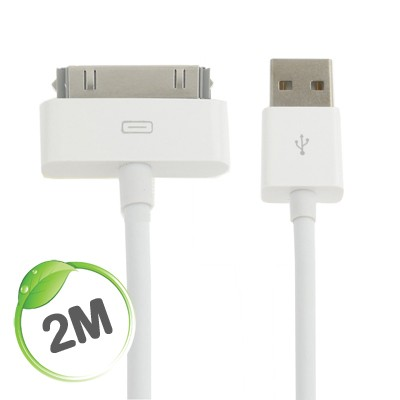 2 metre Apple charge/sync cable (white)