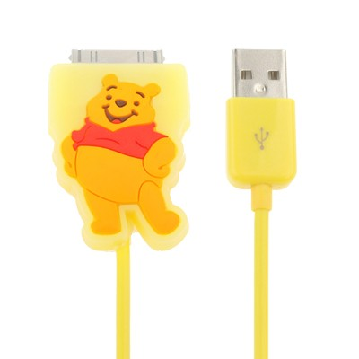 Winnie the Pooh cartoon yellow Apple Cable