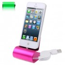 Aluminium iPhone 5 dock Pink