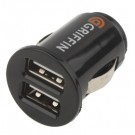 Double USB car charger (Super High power) 2100mA
